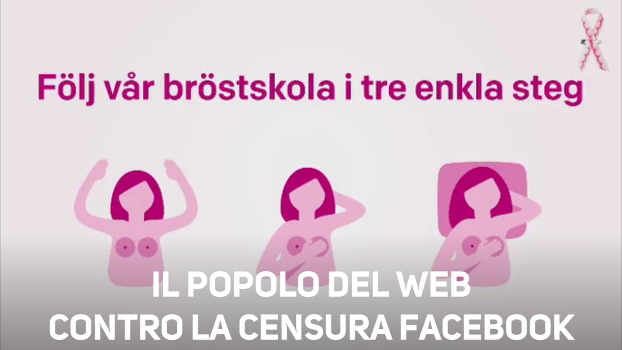 Onlus vs cancro al seno, ma Facebook censura il post